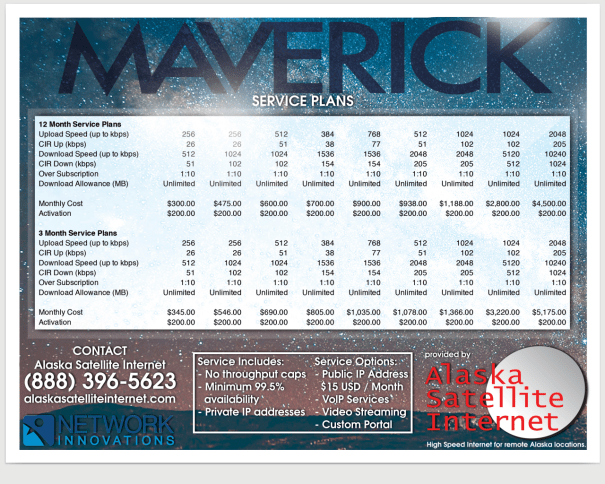 Maverick Service Plans Web Image