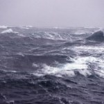 rough ocean waters