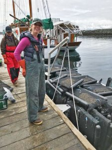 Meta Mesdag is the owner of Salty Lady Seafood Co.