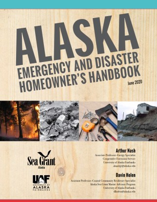 Alaska Emergency and Disaster Homeowner's Handbook cover