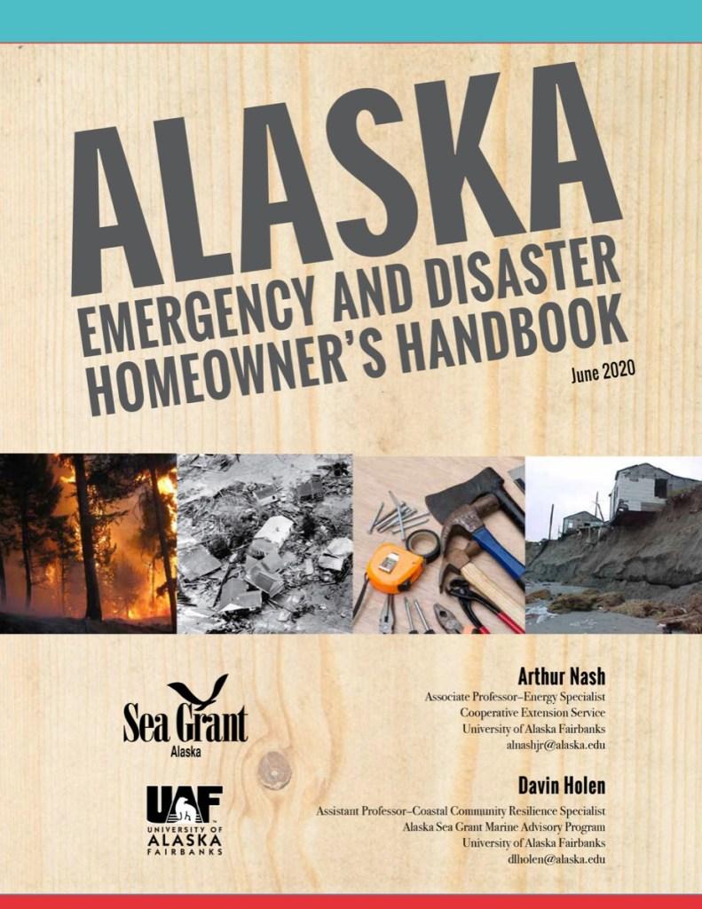 Alaska Emergency and Disaster Homeowner's Handbook cover