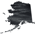graphic of Alaska