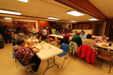 Monthly potluck