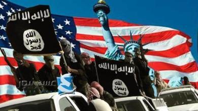 """صورة """"أمريكا"""" صانعة الإرهاب والسعودية الأم الرؤوم للصهيونية وكلاهما وجهان لعملة واحدة"""
