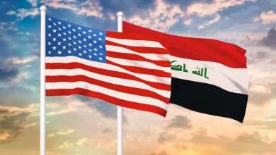 صورة على هامش المفاوضات مع أمريكا