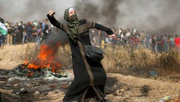 صورة القيادة الفلسطينية تلد فأرا معوقا