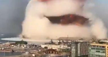 """صورة نترات الأمونيوم"""" المادة التي """"نكبت"""" بيروت.. قوتها وخطورتها بعد الانفجار"""