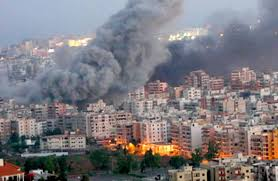 صورة حول تفجير بيروت