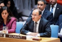 """صورة ممثل الكويت في الأمم المتحدة يغضب """"المنبطحين"""" ويهاجم إسرائيل في مجلس الأمن"""