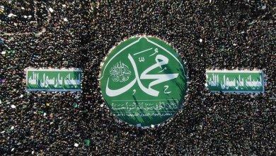 """صورة الإحتفال بالمولد النبوي.. النبي """"محمد"""" في قلوب اليمنيين مبدأ قرآني أزلي"""