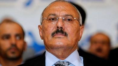 """صورة أبان نظام """"صالح"""" .. هل كان اليمن من أوائل المطبعين مع الكيان الصهيوني!!"""