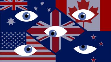 صورة تحالف العيون الخمسة للتجسس تحالف استخباراتي دولي ينشط منذ الحرب العالمية الاولى
