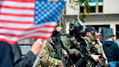 صورة أبرز المليشيات والمجموعات المتطرفة في الولايات المتحدة الأمريكية