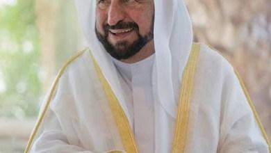 صورة ونجح الرهان..الشيخ سلطان القاسمي