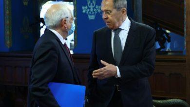 """صورة لا تنازلات روسية في قضية نافالني: الغرب يعلنها """"حرباً"""" لم تثمر زيارة بوريل لموسكو أيّ تنازلات من الجانب الروسي"""