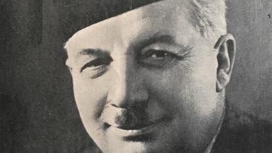 صورة رياض الصلح (1894 – 16 يوليو 1951) أول رئيس وزراء للبنان بعد استقلالها :  سنبدأ من موت رياض الصلح جد الوليد ابن طلال لأمه