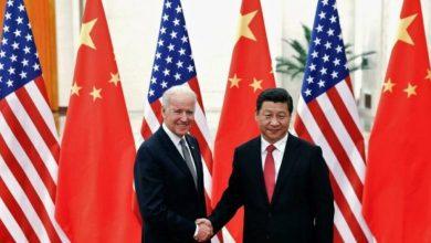 صورة الأول من نوعه.. بايدن يجري اتصالا هاتفيا بنظيره الصيني أجرى الرئيس الأمريكي جو بايدن، اتصالا هاتفيا هو الأول من نوعه منذ توليه السلطة بنظيره الصيني شي جين بينغ
