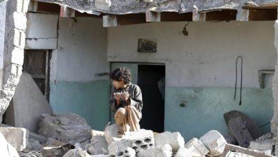 صورة اليمن/ مرتزقة العدوان وصراع السباق للتطبيع مع الكيان!!