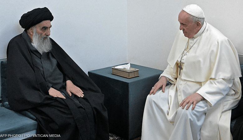 """صورة قراءات جديدة """"مهمة"""" في تقييم زيارة البابا الى العراق!!"""