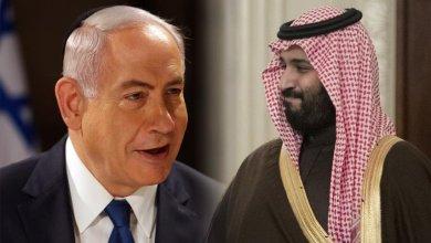 صورة الكشف عن لقاء سري جمع ابن سلمان بنتنياهو قبل الانتخابات الإسرائيلية