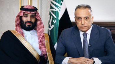 """صورة خلال اتصال مع الكاظمي.. بن سلمان يطلق مبادرة """"الشرق الأوسط الأخضر"""""""