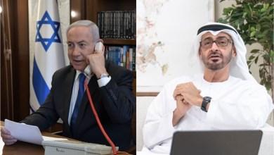 صورة نتنياهو: ابن زايد تطوع لدعم اقتصاد إسرائيل بـ12 مليون دولار