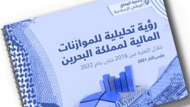 صورة الوفاق البحرينية تطلق رؤية تحليلية حول الموازنة العامة للبحرين