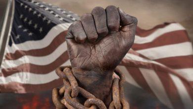 صورة حقيقة ديمقراطية النفاق الأمريكية