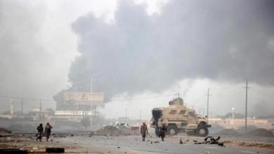 صورة معارك طاحنة على اسوار مأرب وقوات صنعاء تحيط بها من كل جانب