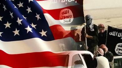 """صورة أمريكا والسعودية والتنظيمات الإجرامية """"داعش والقاعدة"""".. عدوانٌ متكاملٌ على اليمن"""