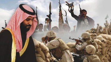 صورة الفأس اليمنية تقطع أقدام بن سلمان في مأرِب