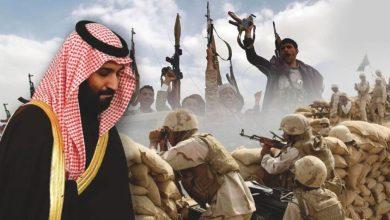 """صورة ابن سلمان يرتكب خطأ فادحاً في مأرب: """"القاعدة"""" في حضن المملكة"""