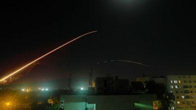 صورة صاروخ واحد جمّد تحضير عدوان صهيو – امريكي واوروبي ضد سوريا