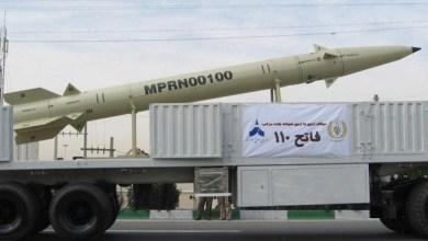 صورة صاروخ فاتح 110