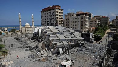 صورة غزة تخوض حرب الـ 48 من جديد وتعيد الكيان الى ما قبل التأسيس