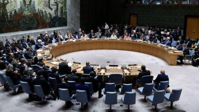"""صورة رد فعل """"أنصار الله"""" على قرار محتمل لمجلس الأمن بشأن اليمن"""