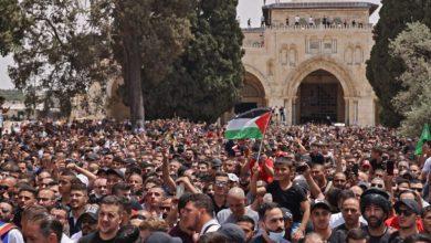 صورة الانتصار  الفلسطيني  وهزيمة الكيان الصهيوني..الفرحة يقابلها النكسة