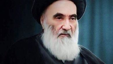 صورة تحية وألف تحية لسيد المقاومة العراقية الإمام السيستاني دام ظله الوارف