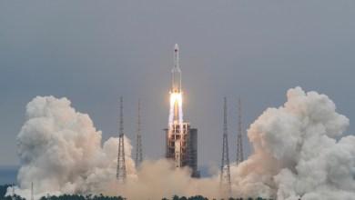 صورة وكالة الفضاء الأوروبية وواشنطن: هذا موعد سقوط الصاروخ الصيني من الفضاء على الأرض
