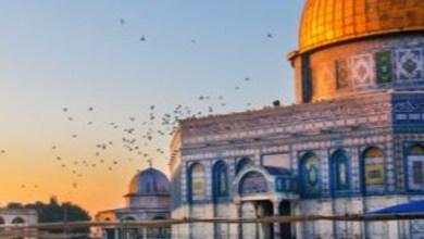 صورة الأرض لنا والقدس لنا……القدس أقرب