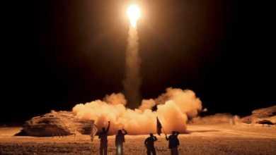 صورة موقع أمريكي: السعوديـة بأكملها في مرمى الصواريخ اليمنية