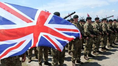 صورة اعتراف بريطاني رسمي بنشر قوات عسكرية بريطانية في اليمن