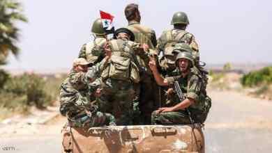 صورة بعد قصف القاعدة الأمريكية… استنفار للجيش السوري شرقي البلاد
