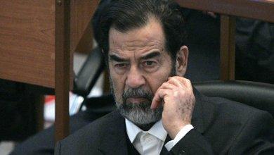 صورة إشارة عابرة لبعض أموال وعقارات صدام حسين والمقربين منه