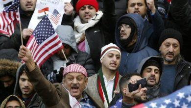 صورة رسالة عاجلة للجالية اليمنية والجاليات العربية والاسلامية في الولايات المتحدة الامريكية