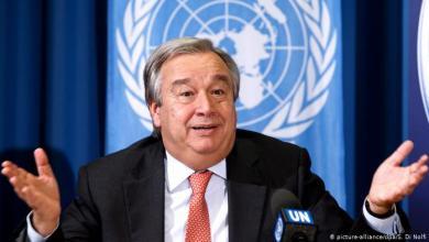 صورة إلى أمين عام الأمم المتحدة …. كن إنسانآ !