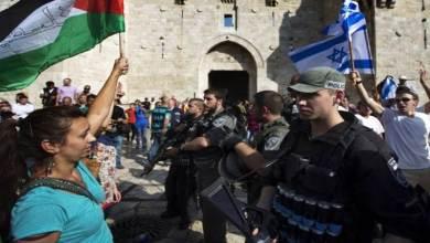 صورة كواليس تأريخية، تبين الخطر الإسرائيلي