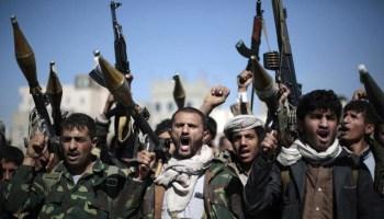 صورة التأييد بالنصر  الرباني للجيش واللجان الشعبية بجيزان