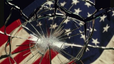صورة بداية السقوط لأمريكا ..
