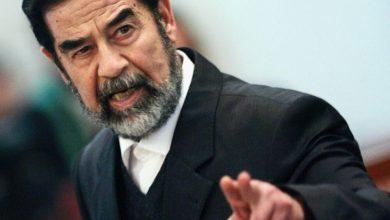 صورة لماذا وجه صدام يبيض مع قبحه؟